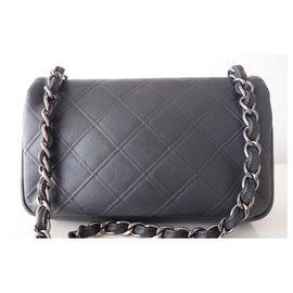 Chanel-GRAY CHANEL CROSSBODY BAG-Grey