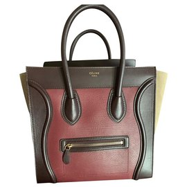 Céline-Celine-Beige,Dark red