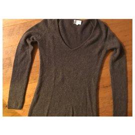 Eric Bompard-Bompard women's cashmere sweater-Brown