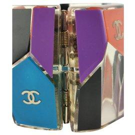 Chanel-manchette chanel multicolore-Multicolore