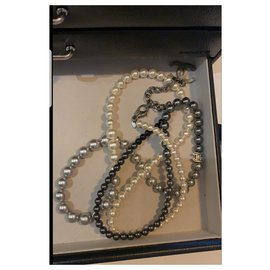 Chanel-Long necklaces-Black