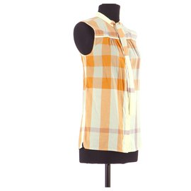 Burberry-Shirt-Orange