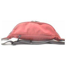 Burberry-Burberry Black Label Nova Check Waist Bag-Red