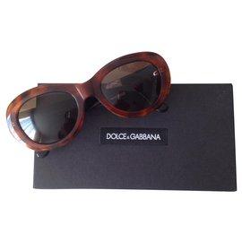 Dolce & Gabbana-vintage 1990-Dark brown