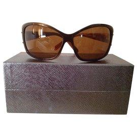 Prada-vintage 1990-Dark brown
