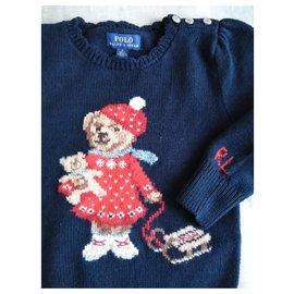 Ralph Lauren-Teddy bear-Bleu Marine