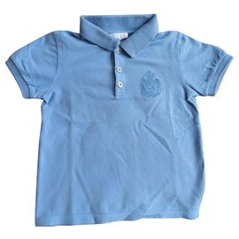 Gucci-Polo-Light blue