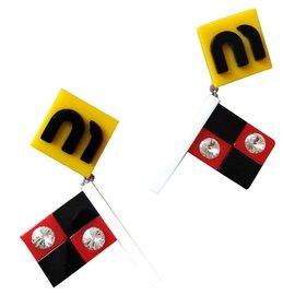 Miu Miu-Flags-Multicolore