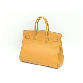 Hermès-HERMES BIRKIN 35-Golden
