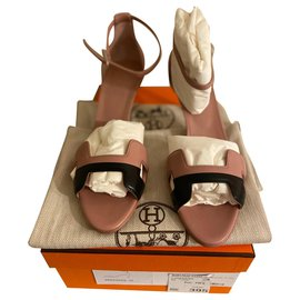 Hermès-Sandales Première 70-Pink