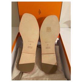 Hermès-Hermès Omaha mules-Orange