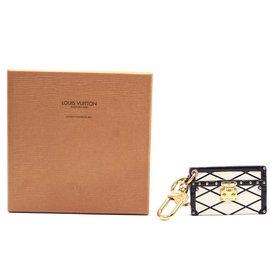 Louis Vuitton-Porte-clés imprimé monogramme Louis Vuitton Petite Malle-Multicolore