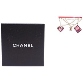 Chanel-Chanel CC Chain Dangle Hardware Brooch-Multiple colors