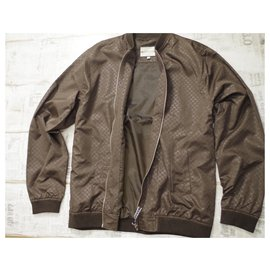 Gucci-Gucci  Windbreak Brown Jacket-Dark brown