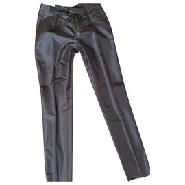 Gucci-Pantalon noeud-Gris