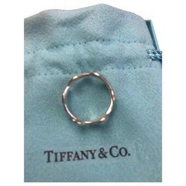 Tiffany & Co-Anneau feuilles d'olivier-Argenté
