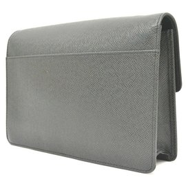 Louis Vuitton-Louis Vuitton Vintage clutch bag-Black