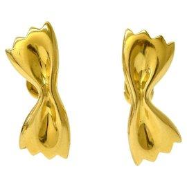 Mikimoto-Boucles d'Oreilles Mikimoto-Doré