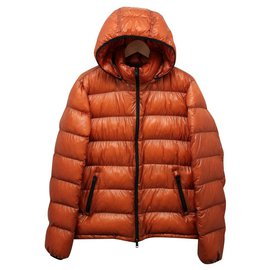 Herno-HERNO 7 Den Packable Down Jacket-Orange