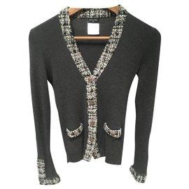 Chanel-Knitwear-Dark grey