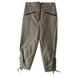Chloé-Pants, leggings-Light blue
