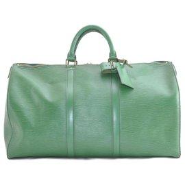 Louis Vuitton-Louis Vuitton Epi Keepall 50-Vert