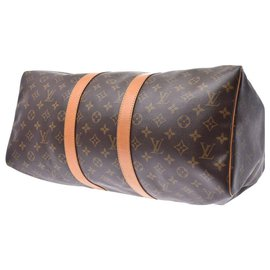 Louis Vuitton-Louis Vuitton Monogram Keepall 45-Marron
