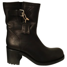 Free Lance-Ankle Boots-Black