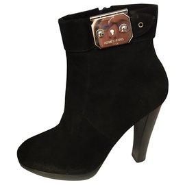 Hermès-Boots-Noir