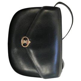 Céline-Vintage triumph bag-Navy blue