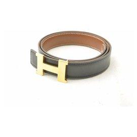 Hermès-Boucle Hermès Constance H-Noir
