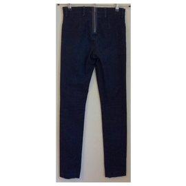 Acne-Dark blue skinny jeans-Dark blue