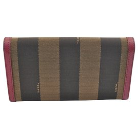 Fendi-Fendi Pequin Wallet-Brown