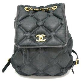 Chanel-Sac à dos Chanel Bubble-Noir