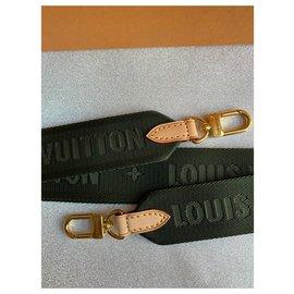 Louis Vuitton-Sangle de guitare verte-Vert