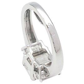 inconnue-Solitaire en or blanc diamant 3 carats.-Autre