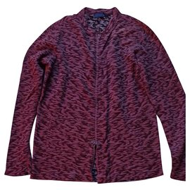 Lanvin-Sweaters-Dark red