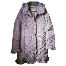 Moncler-Manteaux, Vêtements d'extérieur-Marron