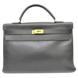 Hermès-hermes kelly 40-Black