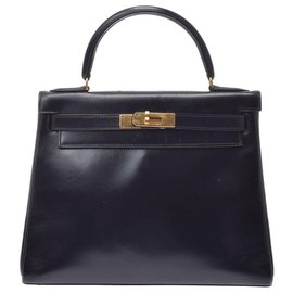 Hermès-hermes kelly 28-Black