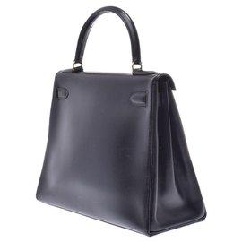 Hermès-hermes kelly 28-Black