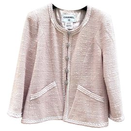 Chanel-Jackets-Pink