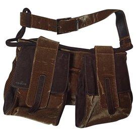 Hogan-Hand bags-Brown