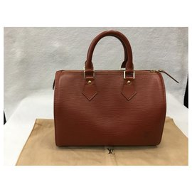 Louis Vuitton-Speedy 28-Caramel