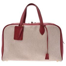 Hermès-Hermès Victoria 43-Red