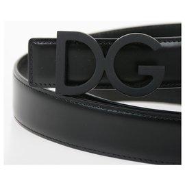 Dolce & Gabbana-Ceinture Dolce e Gabbana neuve-Noir