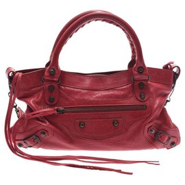 Balenciaga-Balenciaga city-Red