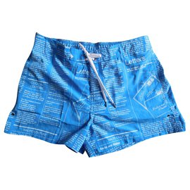 John Galliano-swim shorts - John Galliano - size 3-Blue