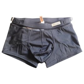 John Galliano-swim trunks - John Galliano - S-Black