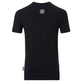 Philipp Plein-Philipp Plein ALEC MONOPOLY Black Cotton HOMME Short Sleeve T- Shirt Top - Sz S-Multiple colors
